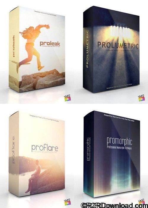 Pixel Film Studios – Light Leaks Pack Vol. 1 for Final Cut Pro X