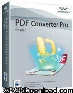 Wondershare PDF Converter Pro with OCR 5.0.0.1486 Free Download [MAC-OSX]