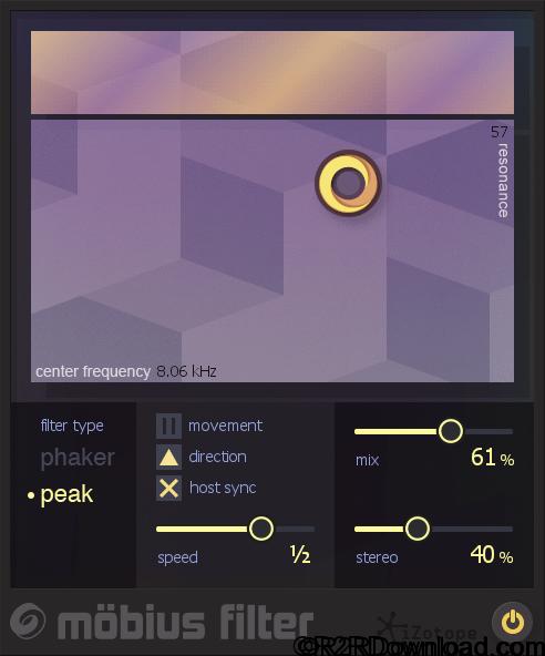 iZotope Mobius Filter v1.00 Free Download [MAC-OSX]