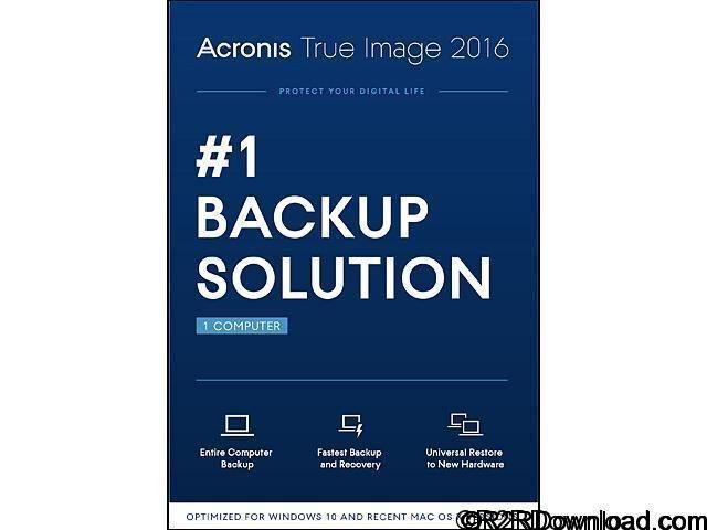 Acronis True Image 2016 19.0 Free Download