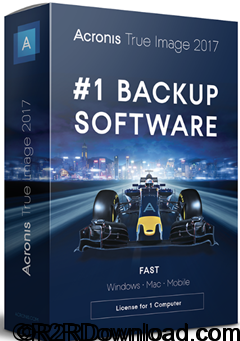 Acronis True Image 2017 20.0 Free Download