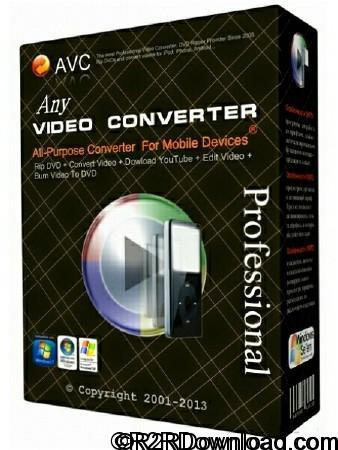 Any Video Converter Professional 6.1.5 Free Download