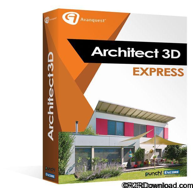 Architect 3D Express 2017 v19 Free Download
