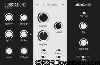 Audio Damage AD036 Dubstation 2 v2.0 Free Download