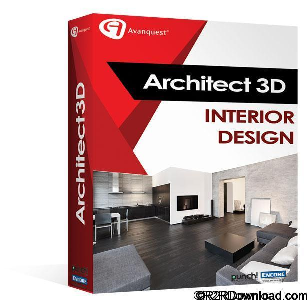 Avanquest Architect 3D Interior Design 2017 19.0 Free Download