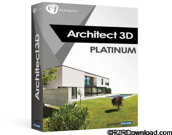 Avanquest Architect 3D Platinum 2017 19 Free Download