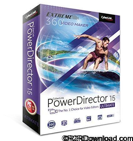 CyberLink PowerDirector Ultimate 15.0.2820.0 Free Download