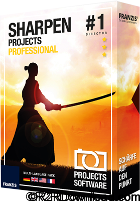 Franzis SHARPEN projects professional 1.16 Free Download [MAC-OSX]