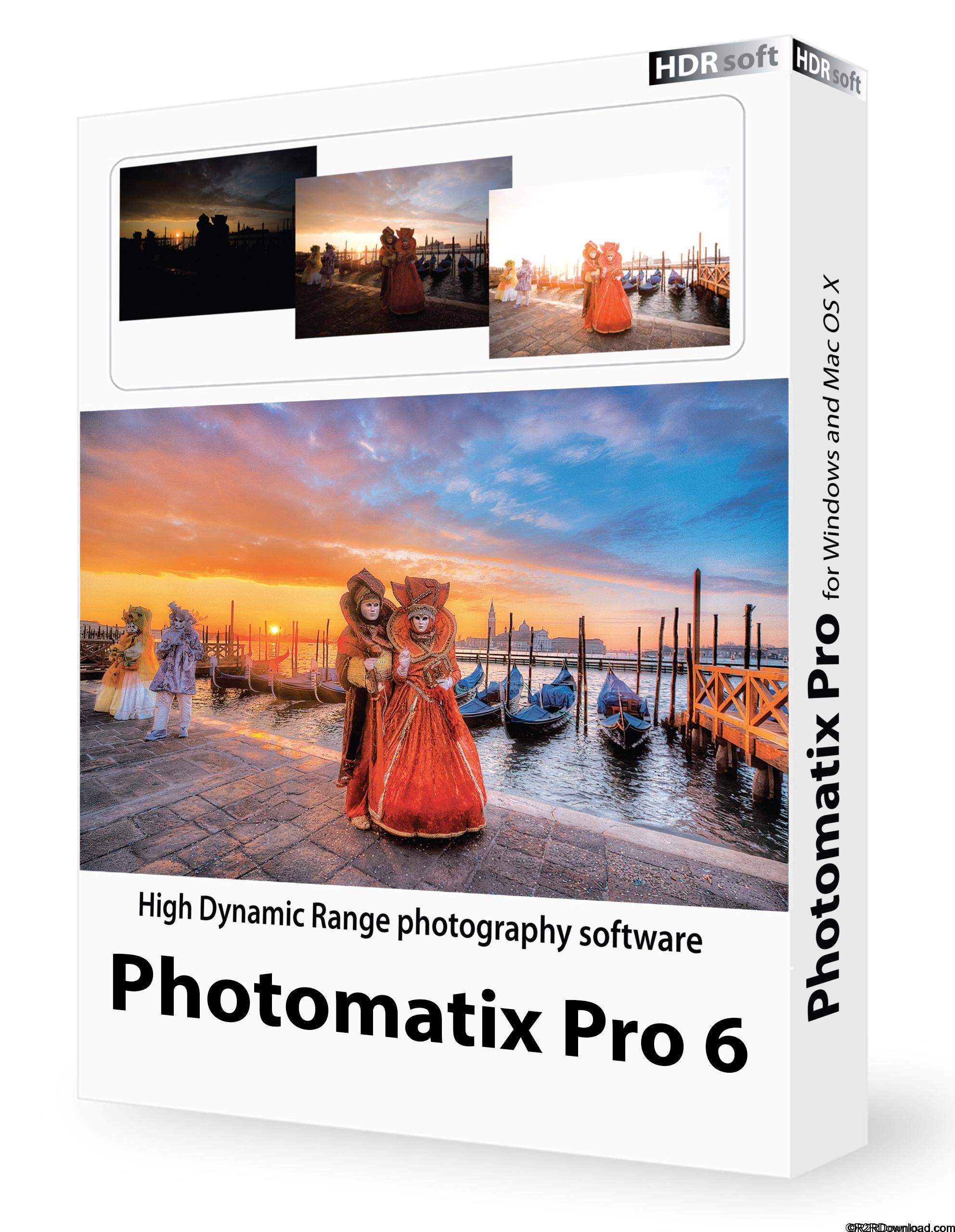 HDRsoft Photomatix Pro 6 Free Download(x64)