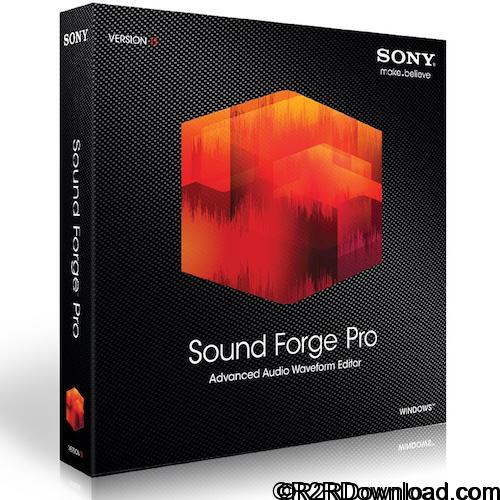 MAGIX Sound Forge Pro 11.0 Build 338 Free Download