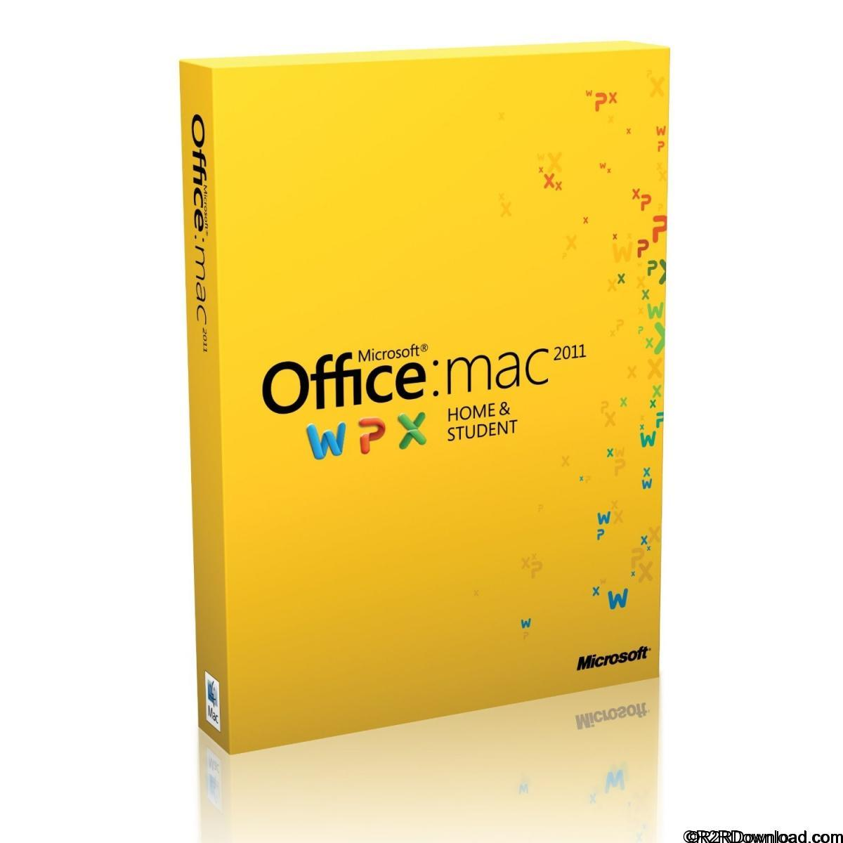 Microsoft Office 2011 for Mac v14.7.5 SP4 VL Free Download