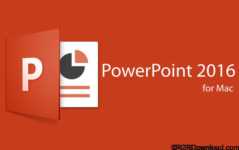 Microsoft Powerpoint 2016 VL 15.35.0(Mac OS X) Free Download
