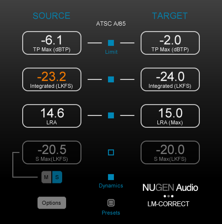 NuGen Audio LM Correct v2.5.2 Free Download [WIN-OSX]
