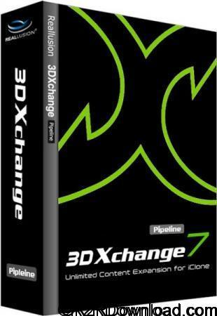 Reallusion iClone 3DXchange 7 Pipeline Free Download