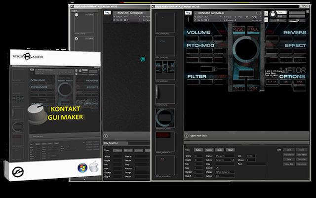 Rigid Audio KONTAKT GUI Maker v1.1.0 rev2 Free Download [WIN-OSX]