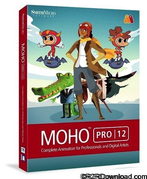 Smith Micro Moho Pro (Anime Studio) 12.1 Free Download [MAC-OSX]