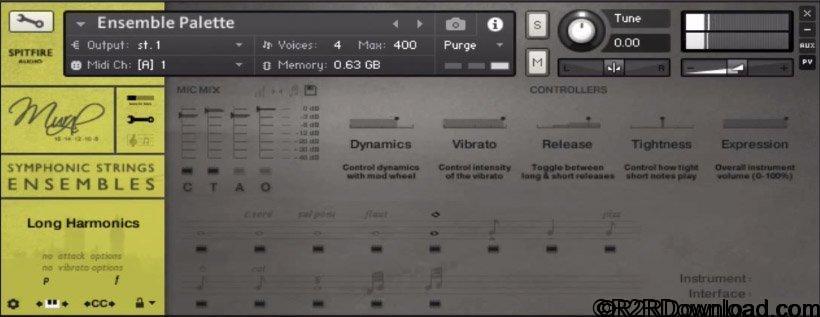 Spitfire Audio BML Mural Symphonic String Ensembles KONTAKT