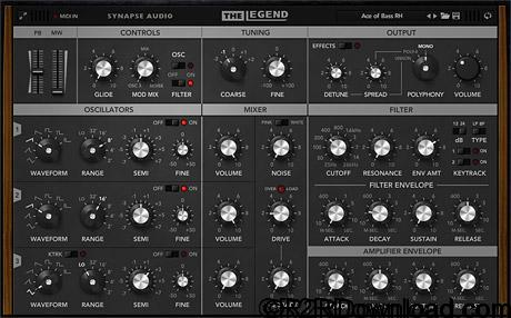 Synapse Audio Software The Legend v1.1 Free Download