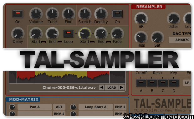 TAL-Sampler 1.9.72 Free Download [WIN-OSX]