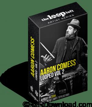 The Loop Loft Aaron Comess Drum Loops Vol 2 MULTiFORMAT