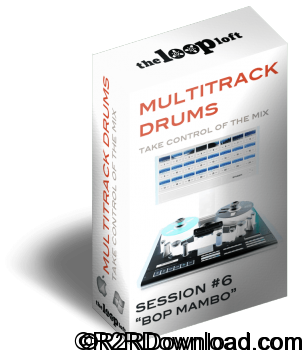 The Loop Loft Bop Mambo Multitrack Drums Session 6 WAV