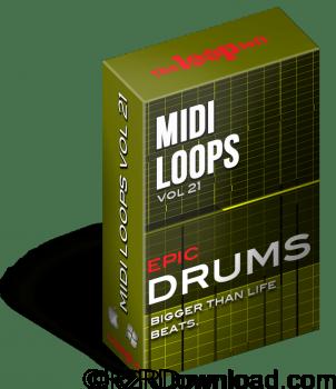 The Loop Loft Epic Drums Vol 1 MIDI Drum Loops