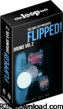 The Loop Loft Flipped Drums Vol 2 WAV
