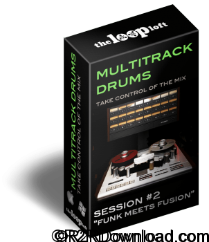 The Loop Loft Funk Meets Fusion Multitrack Drums Session 2 WAV