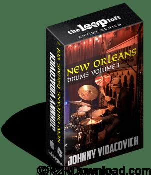 The Loop Loft Johnny Vidacovich New Orleans Drums Vol 1 MULTiFORMAT
