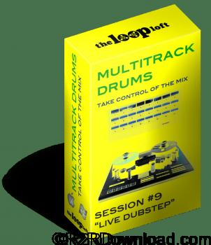 The Loop Loft Live Dubstep Multitrack Drums Session 9 WAV