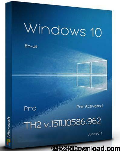 Windows 10 Pro TH2 1511 Pre Activated Free Download