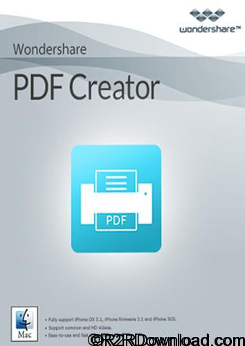 Wondershare PDF Creator 1.0.0.1705 Free Download(Mac OS X)