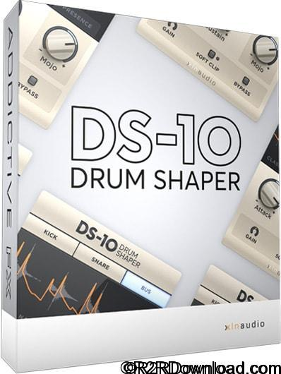XLN Audio DS-10 Drum Shaper v1.0.3 Free Download [WIN-OSX]
