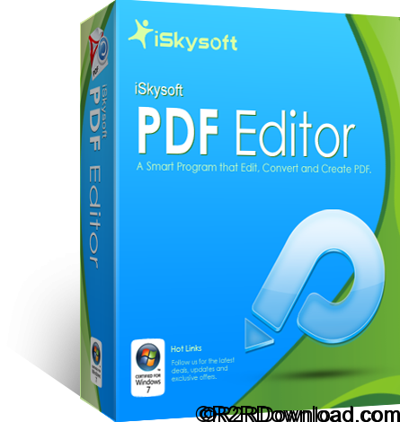 iSkysoft PDF Editor Professional 6.1.3 Free Download