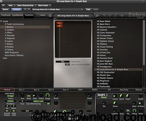 u-he Zebra 2.7.2 Free Download