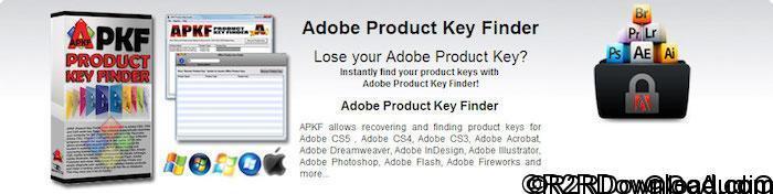 APKF Adobe Product Key Finder 2.4.8.0 + Portable