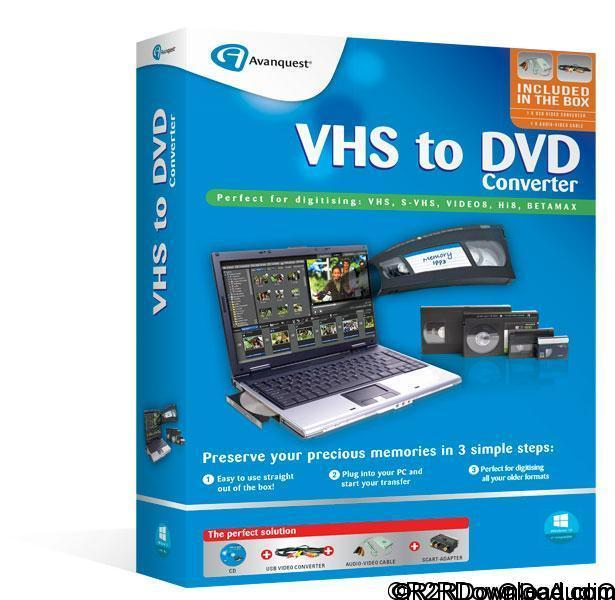 Avanquest VHS to DVD Converter 7.86 Free Download