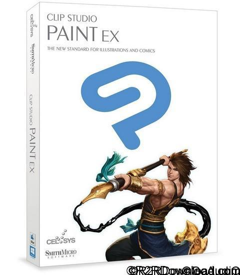 Clip Studio Paint EX 1.5.4 Free Download(Mac OS X)