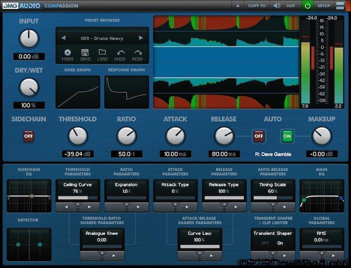 DMG Audio Compassion AU VST VST3 RTAS Free Download (Mac OS X)