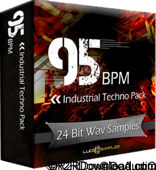 Lucid Samples 95 BPM Industrial Techno Pack WAV
