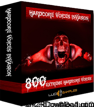 Lucid Samples Hardcore Voices Invasion WAV