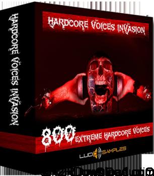 Lucid Samples Hardcore Voices Invasion WAV
