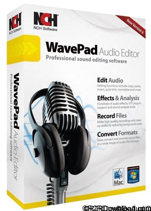 NCH WavePad Sound Editor Masters Edition 7 Free Download