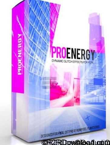 ProEnergy Dynamic Glitch Effects for FCPX