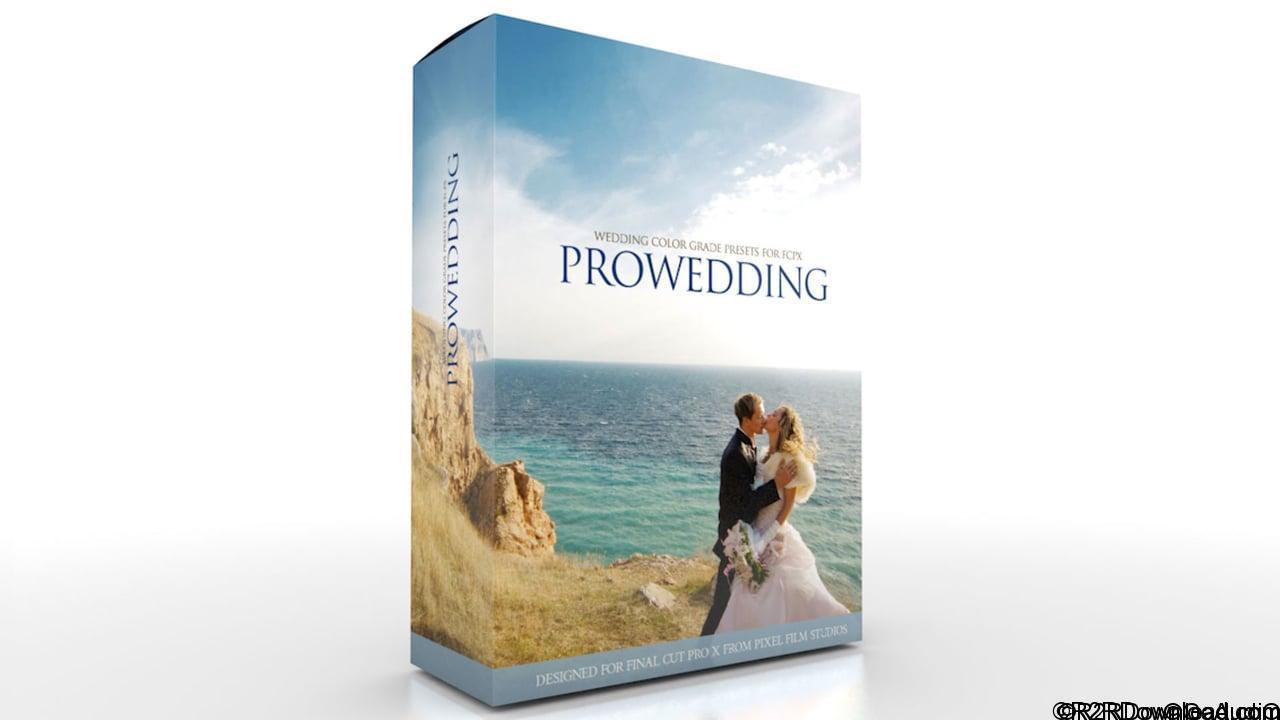 ProWedding Wedding Color Grades for Final Cut Pro X (Mac OS X)