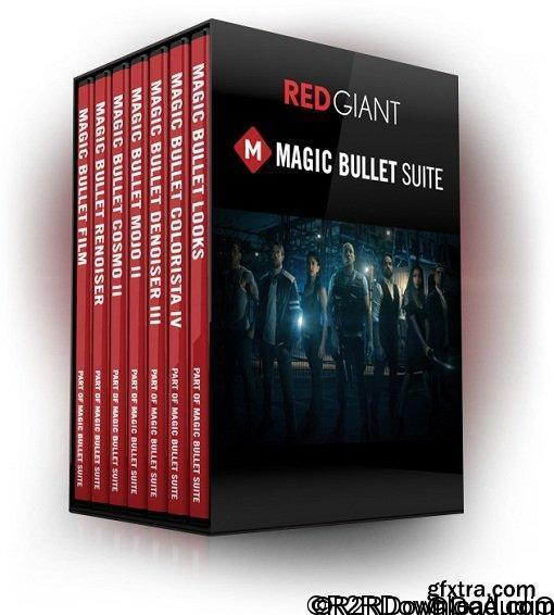 Red Giant Magic Bullet Suite OFX 13.0.3 Free Download