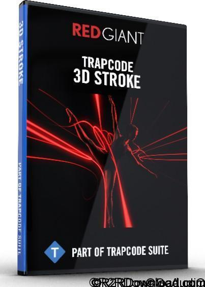 Red Giant Trapcode 3D Stroke 2.6.6 Free Download