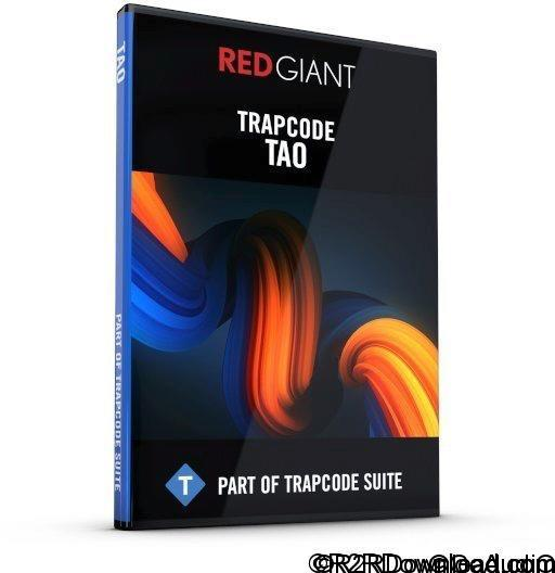 Red Giant Trapcode Tao 1.1 Free Download (Mac OS X)