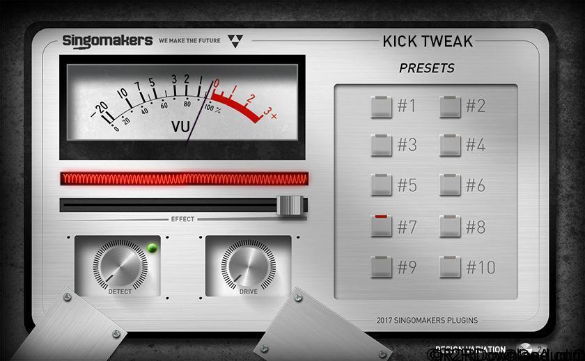 Singomakers Kick Tweak Free Download (WIN-OSX)
