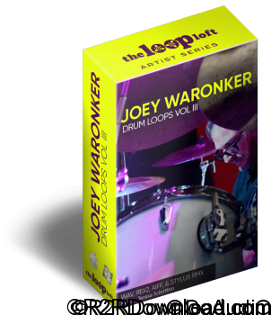 The Loop Loft Joey Waronker Drums Vol 3 WAV